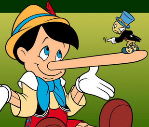 Pinocchio actually murders the delightful Jiminy Cricket