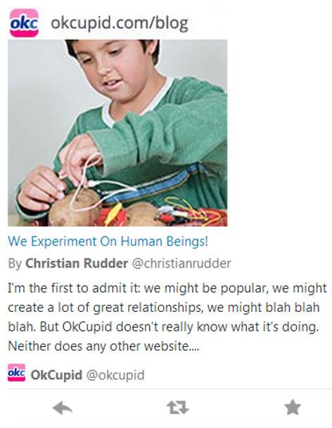 OK Cupid Blog