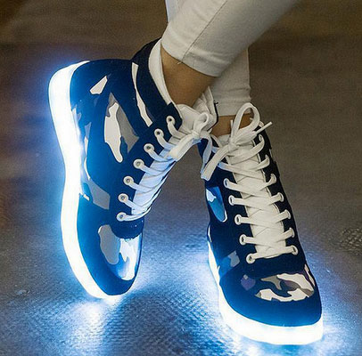 Your Next LED Shoes