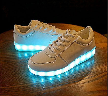 Look for Your LED Shoes