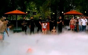 Jagermeister hosts a Poisoned Pool Party